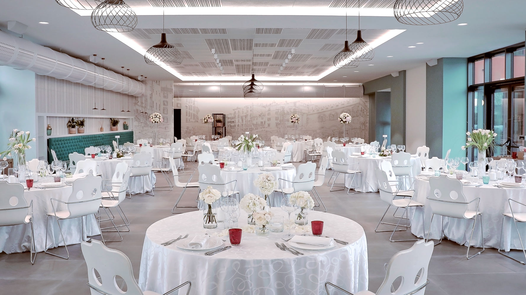 Nuova sala Matrimonio rubino